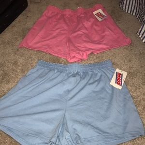 🆕 2 Soffee Shorts Pink , Blue